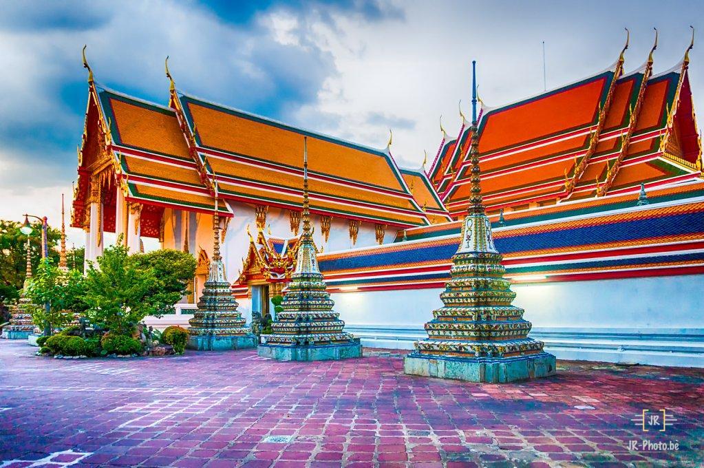 Paysage - Wat Pho à Bangkok