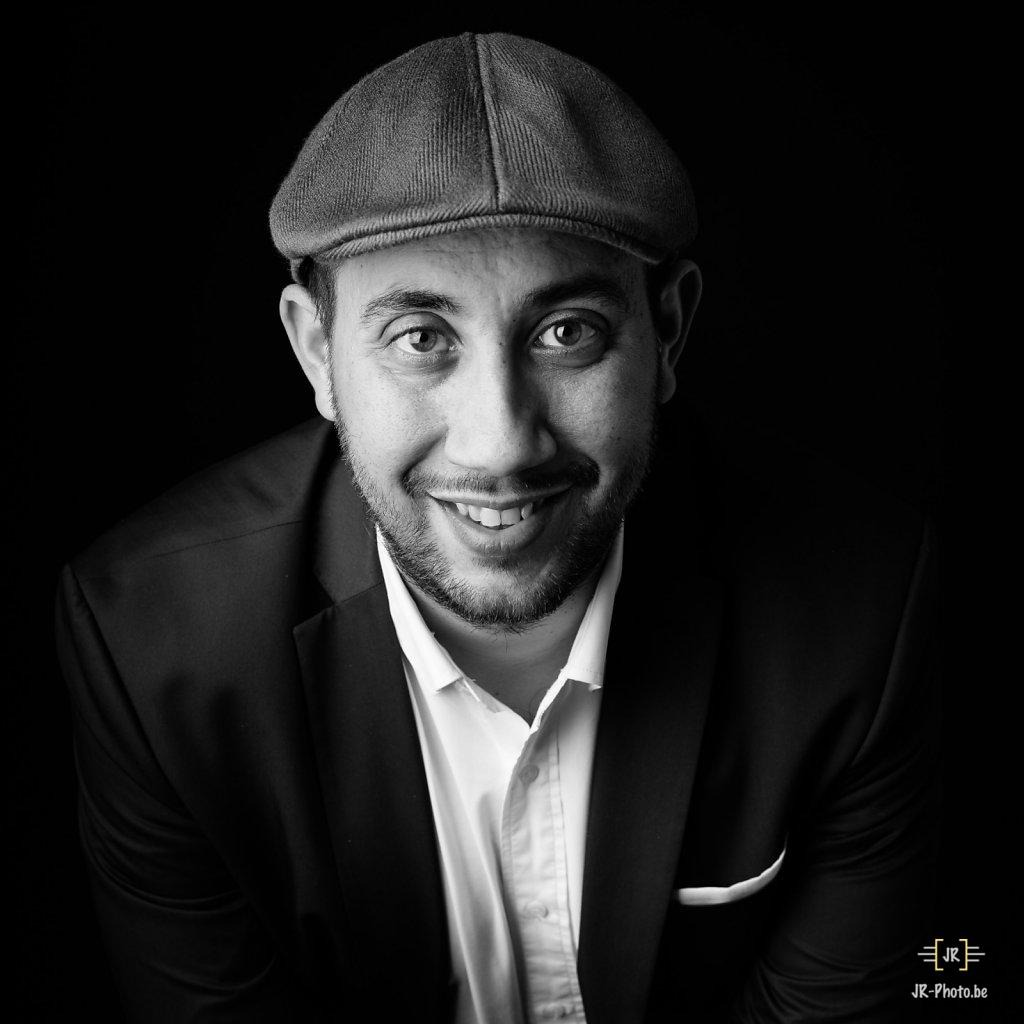 Portrait studio -Julien